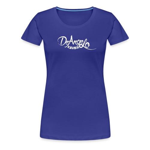 DeAngelo xavier png wit - Vrouwen Premium T-shirt