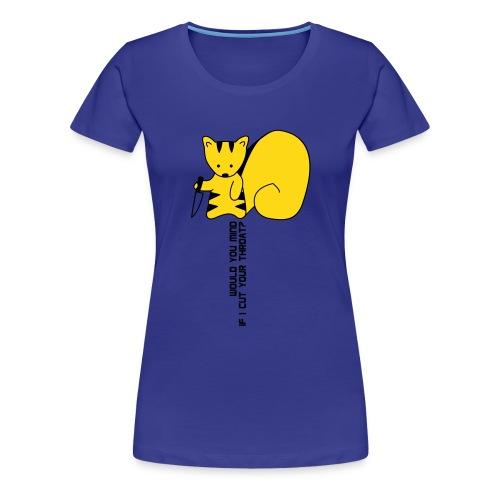 hoernchen05 svg - Frauen Premium T-Shirt