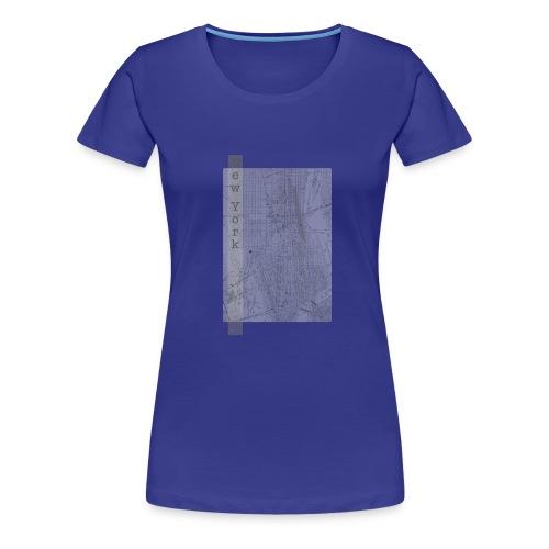New York - Dame premium T-shirt