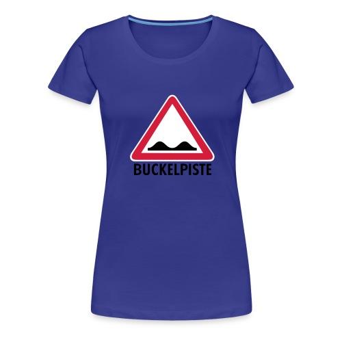Apre Ski Shirt Buckelpiste Verkehrszeichen - Frauen Premium T-Shirt