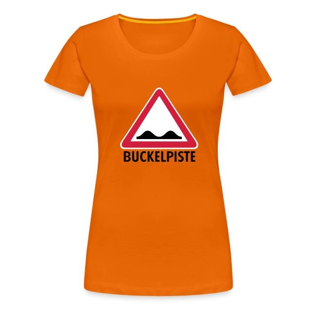 """Apre Ski Shirt """"Buckelpiste"""" Verkehrszeichen"""