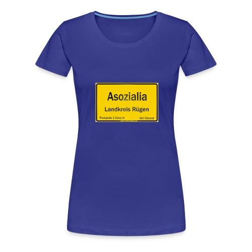 asozialia - Frauen Premium T-Shirt