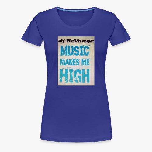 DJ REVANGE - T-shirt Premium Femme