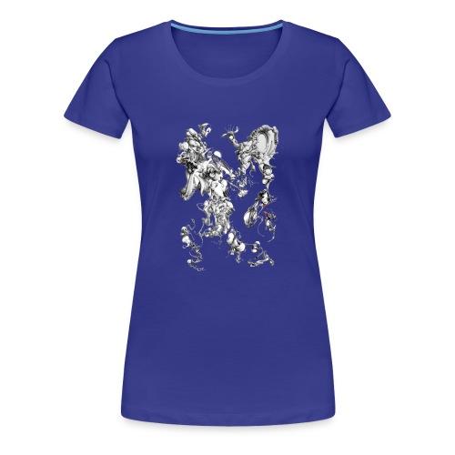 Crazy shapes - Frauen Premium T-Shirt