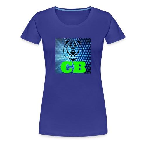 CB Classic Musematte (hvit) - Premium T-skjorte for kvinner