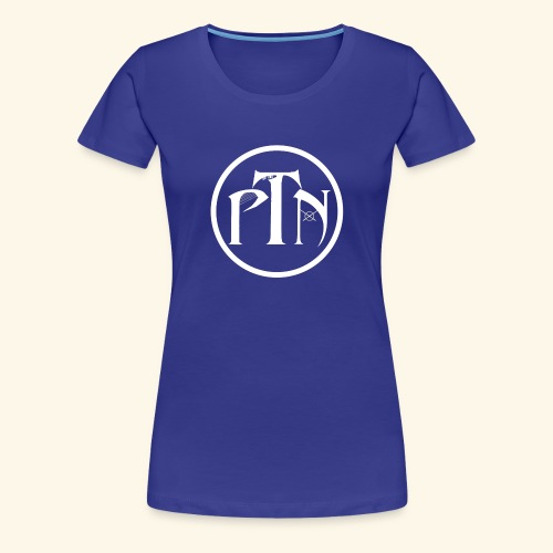 PTN-Music Logo Weiss - Frauen Premium T-Shirt