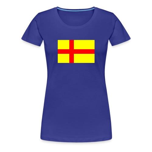 Rigens baner - Premium-T-shirt dam
