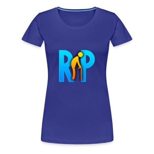 R.I.P. Logo - Frauen Premium T-Shirt