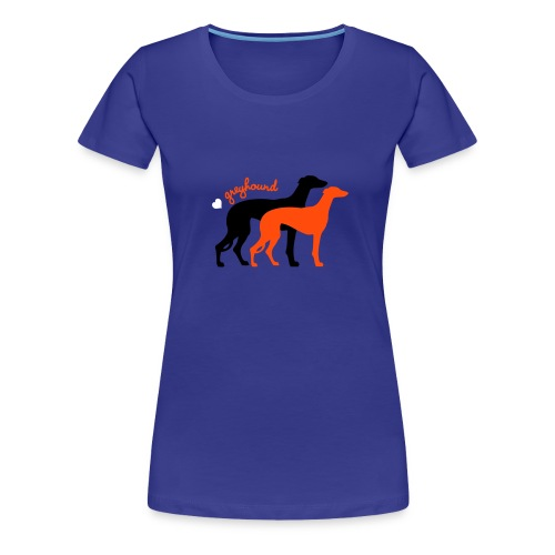 Greyhound Duo kif - T-shirt Premium Femme