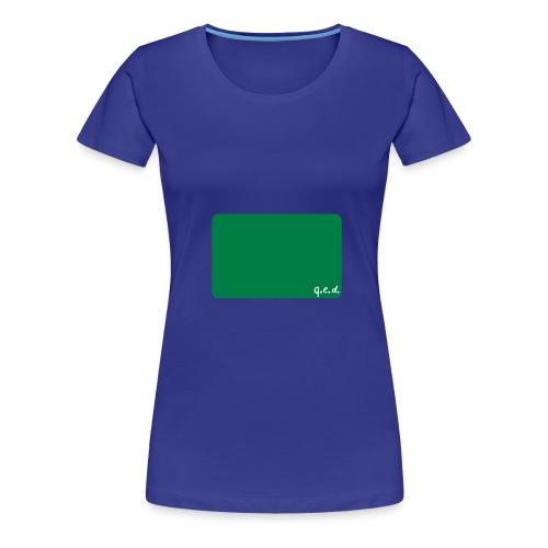 q e d - Frauen Premium T-Shirt
