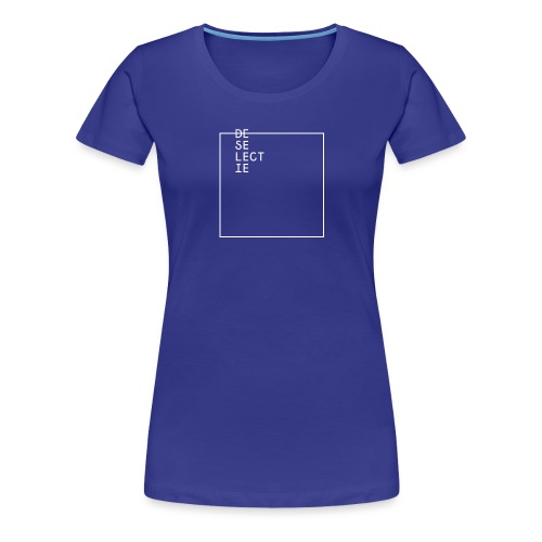 De Selectie - GAME ON! - Vrouwen Premium T-shirt