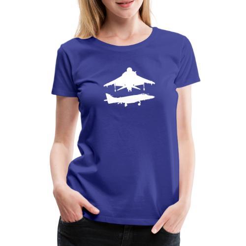 Hovering Sea Harrier FA/2 - Women's Premium T-Shirt