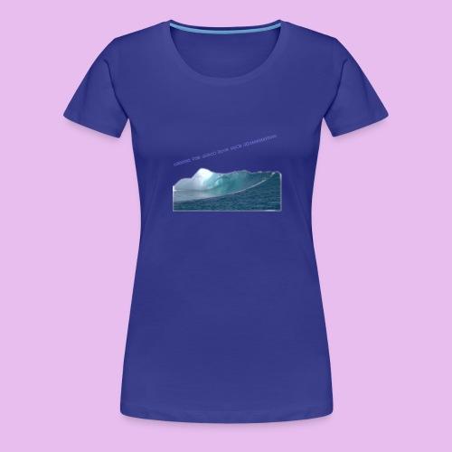 AHHH THE OCEAN HAVE GONE CRAZZZZZY! - Premium-T-shirt dam