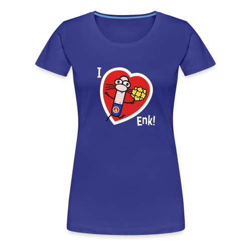 Adrenalini - I Love Enk! - Women's Premium T-Shirt