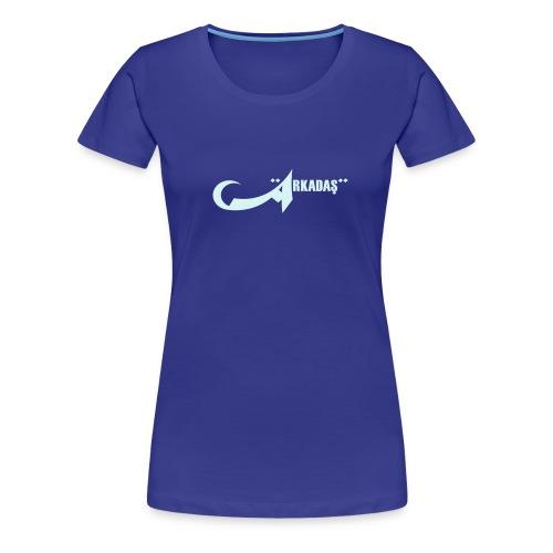 hoodsweater xxxl v1 logo - Frauen Premium T-Shirt
