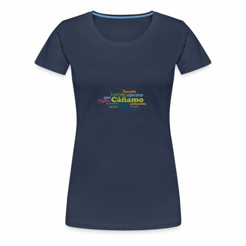 Cáñamo Sustentable - Camiseta premium mujer