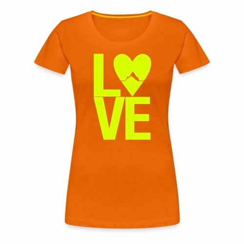 Mountain Love - Frauen Premium T-Shirt