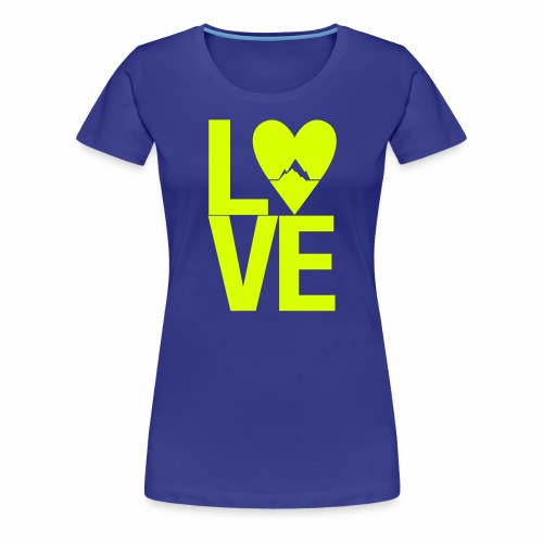 Mountain Love - Frauen Premium T-Shirt