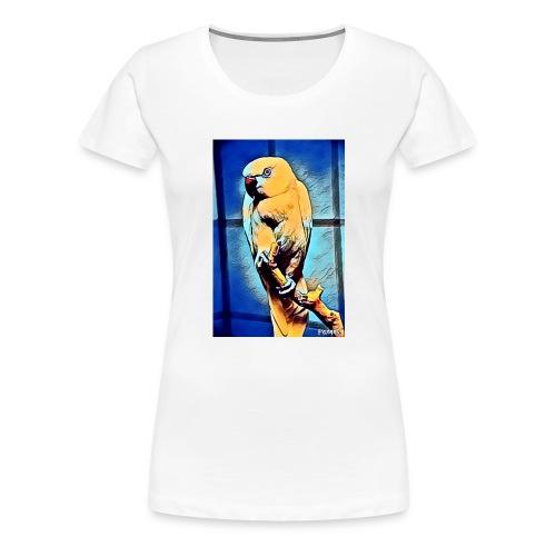 Bird in color - Naisten premium t-paita