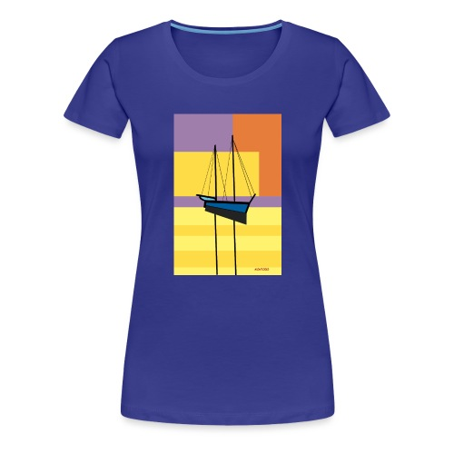 Au large, crépuscule - T-shirt Premium Femme
