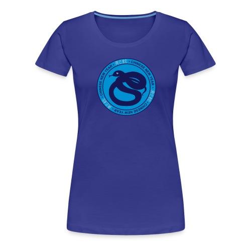 serpent d'eau yin - T-shirt Premium Femme