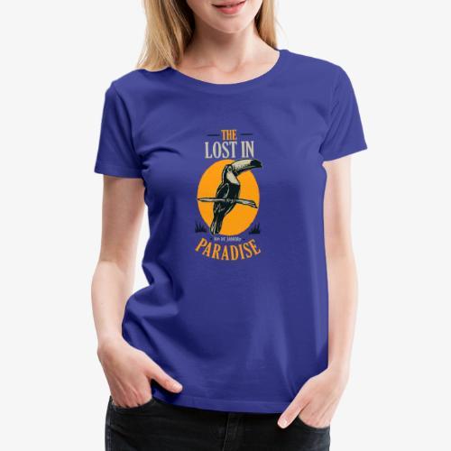 Oiseau - T-shirt Premium Femme