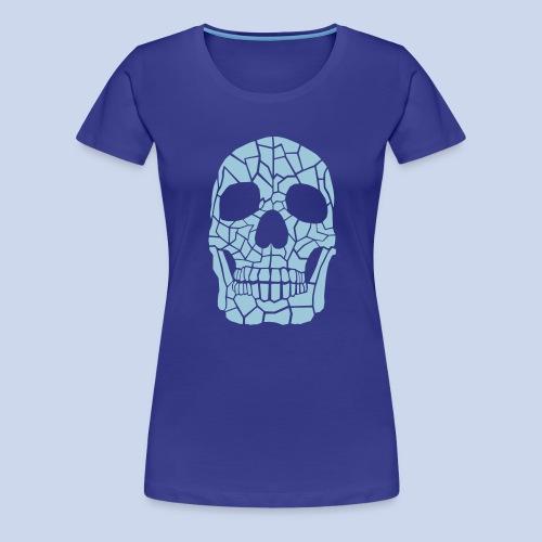 The Skull - Frauen Premium T-Shirt