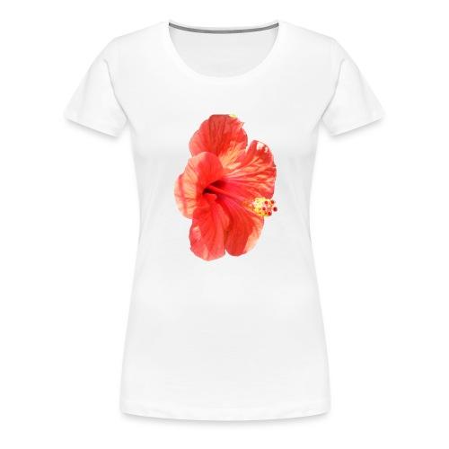 A red flower - Women's Premium T-Shirt