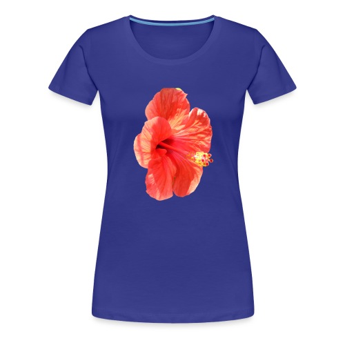 A red flower - Women's Premium T-Shirt