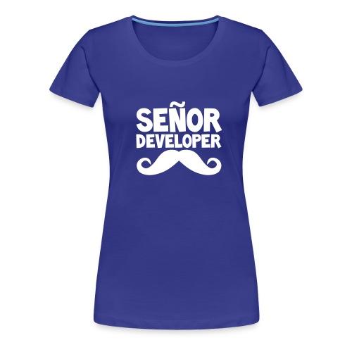 senor comic - Women's Premium T-Shirt