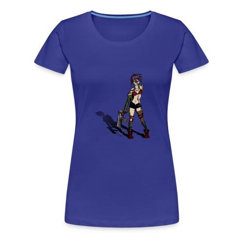 Acid gurl - T-shirt Premium Femme
