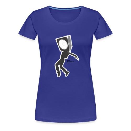 Subwoofer dancing MrMl - Camiseta premium mujer
