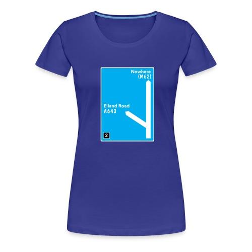 Elland Road Junction 2 - Women's Premium T-Shirt