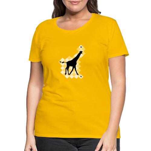 GiraffeSquare - Naisten premium t-paita