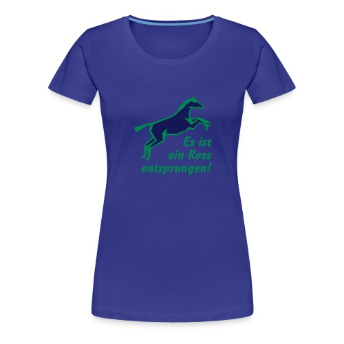 ross_2c - Frauen Premium T-Shirt