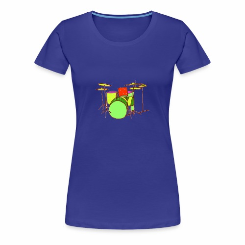 Fantasy Drums - Women's Premium T-Shirt