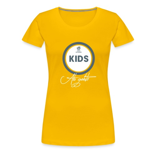 KIDS T Shirt png - Frauen Premium T-Shirt