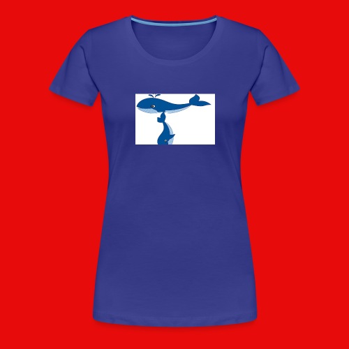 whale t - Women's Premium T-Shirt