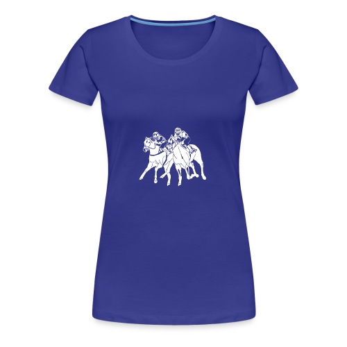 aufkleber scherenschnitttransparent weis - Frauen Premium T-Shirt
