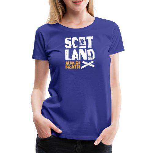 Scotland: Alba Gu Brath - Frauen Premium T-Shirt