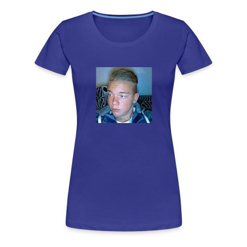 Fan Tröja - Premium-T-shirt dam
