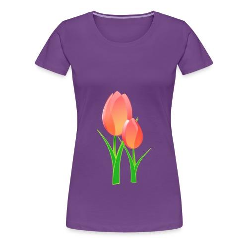 Belle fleur - T-shirt Premium Femme
