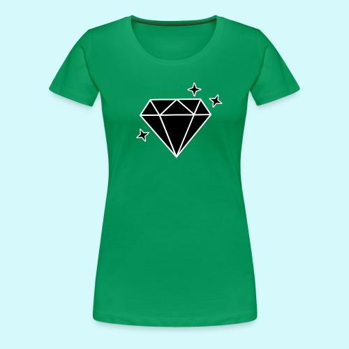 Diamant 2 - Frauen Premium T-Shirt