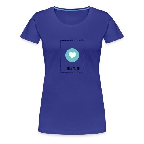 I Love Hollywood - Frauen Premium T-Shirt