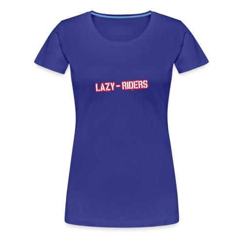Lazy-Riders Logo - Frauen Premium T-Shirt