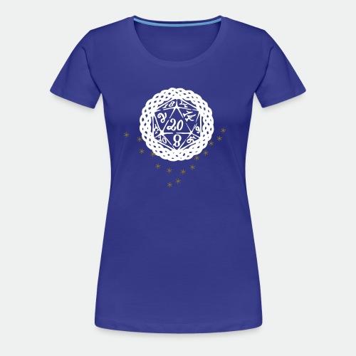 Snowflake Starglitter - Women's Premium T-Shirt