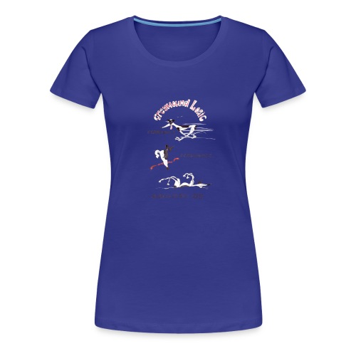 Greyhound Logic - Women's Premium T-Shirt