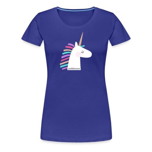 pastelsimmer Unicorn Merch - Koszulka damska Premium
