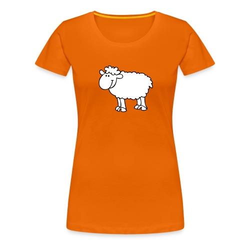 Schaf2 - Frauen Premium T-Shirt