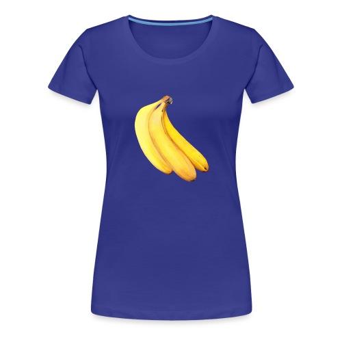 Bananen - Frauen Premium T-Shirt